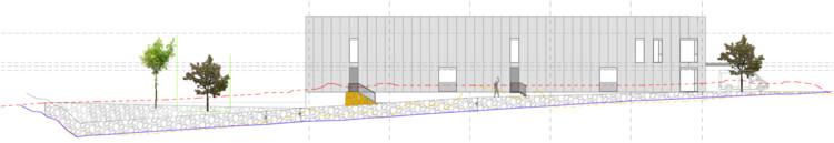 Longitudinal Elevation 01