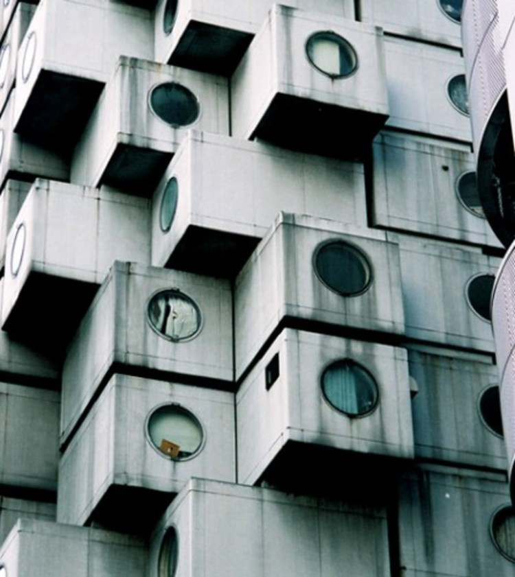 Nakagin Capsule Tower by Kisho Kurokawa © Arcspace