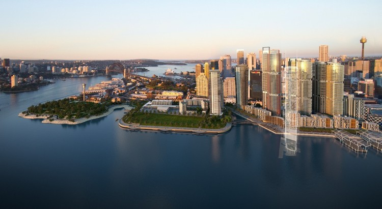 Barangaroo Sydney Artist Impression © Barangaroo Delivery Authority