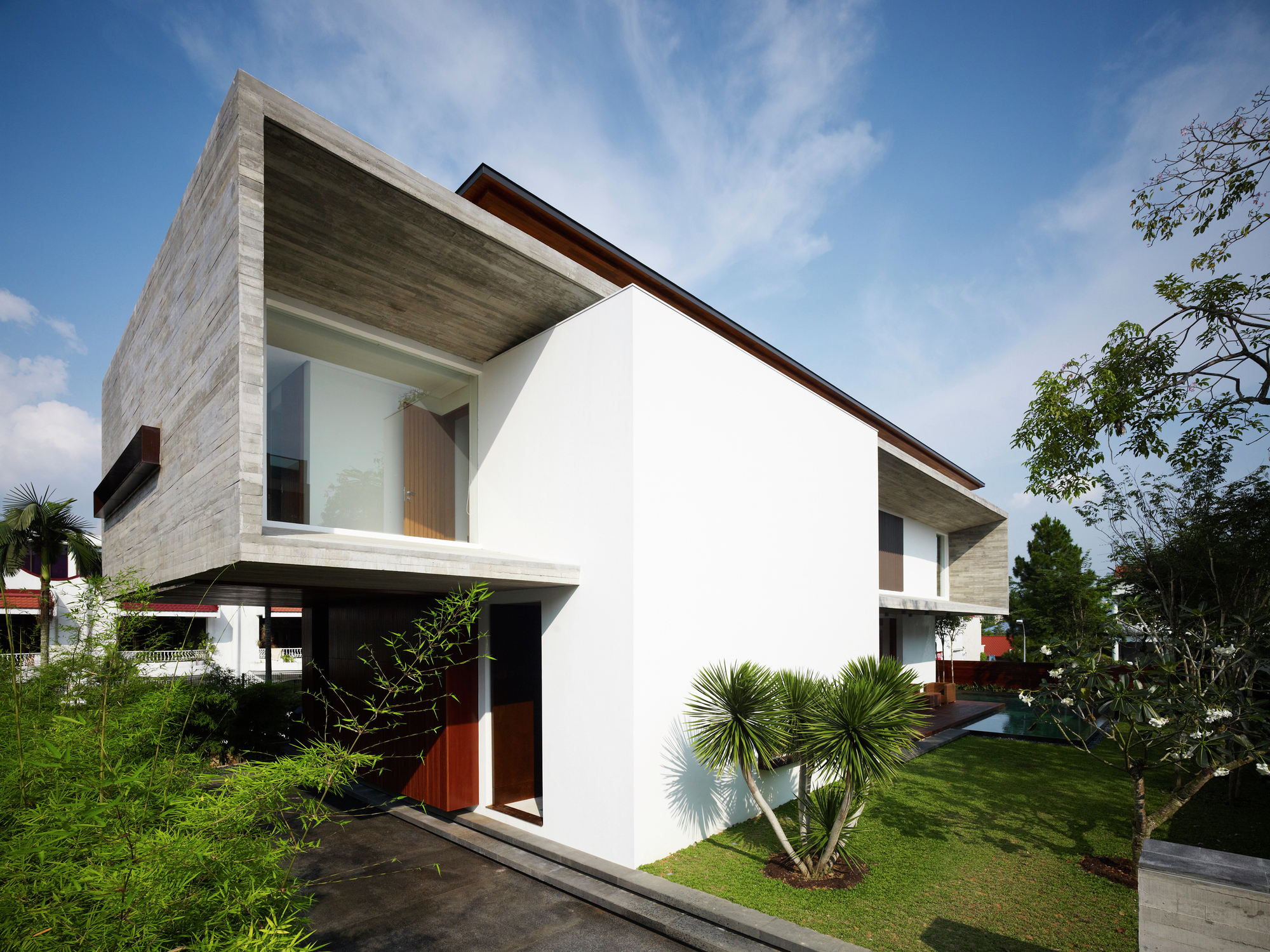 Galer a de m house ong ong architects 16 for Classic minimalist house design