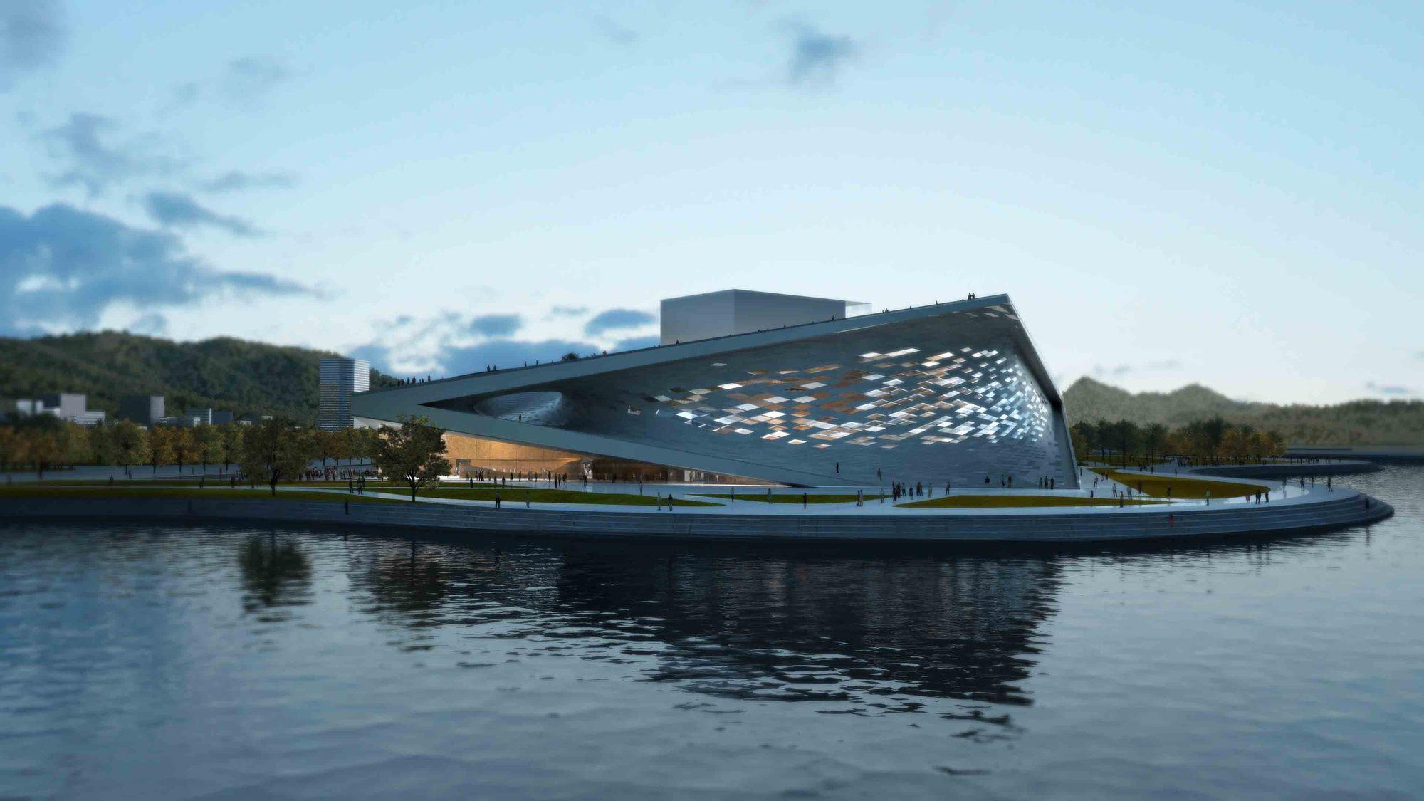 Gallery Of Busan Opera House Winning Proposal Sn 248 Hetta 4
