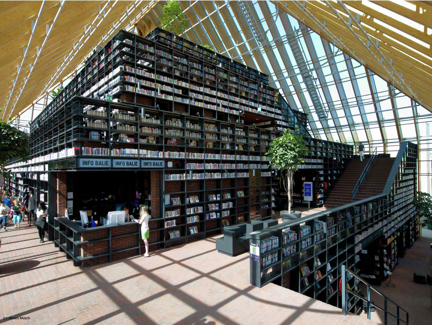 """Самые необычные здания библиотек - """"во!круг книг"""" блог библи."""