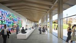 'Under One Roof' Experimental Pavilion Competition Winning Proposal / Kengo Kuma & Associates + Holzer Kobler Architekturen