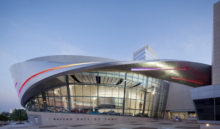 NASCAR Hall of Fame / Pei Cobb Freed & Partners © Paul Warchol