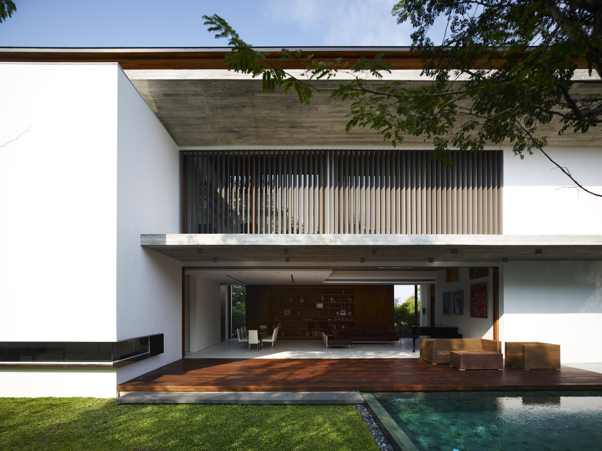 Gallery of m house ong ong pte ltd 7 for Design house architecture ltd