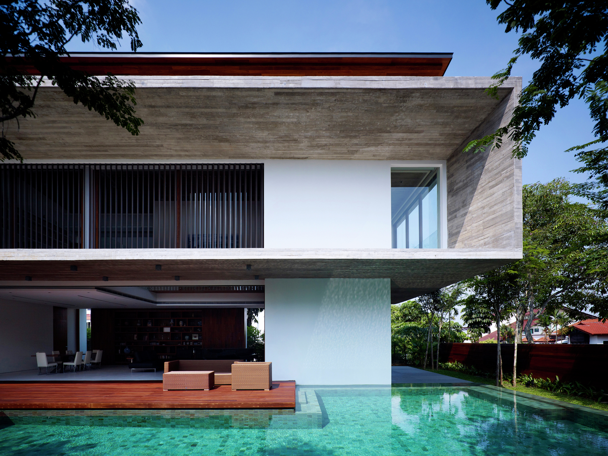 Gallery of m house ong ong pte ltd 15 for Home architecture ltd