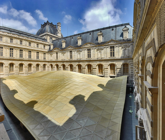 Department of Islamic Arts at Louvre © Raffaele Cipolletta. Courtesy Mario Bellini Architect(s)