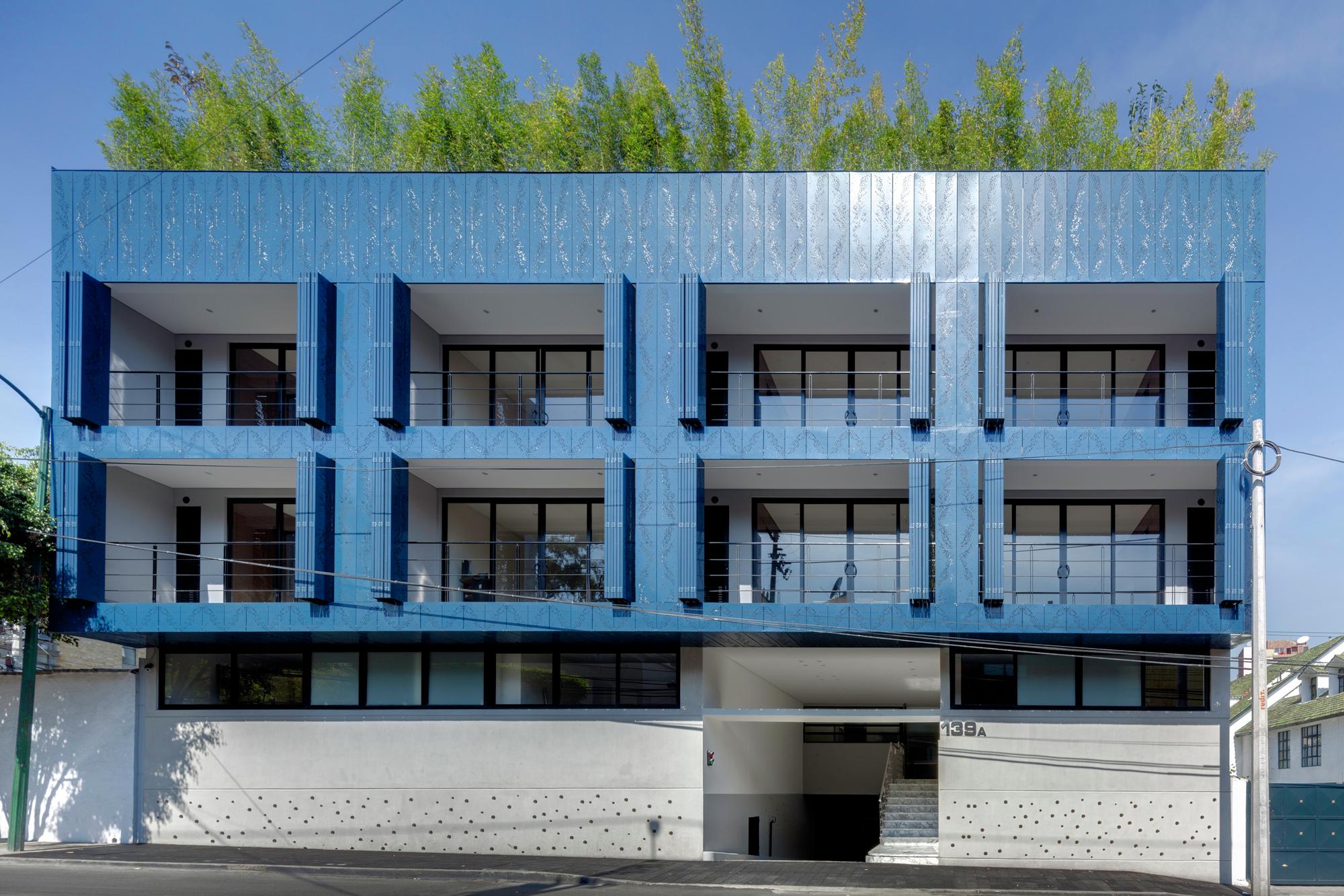 Gallery of tk139 at103 10 for Fachadas de apartamentos modernas