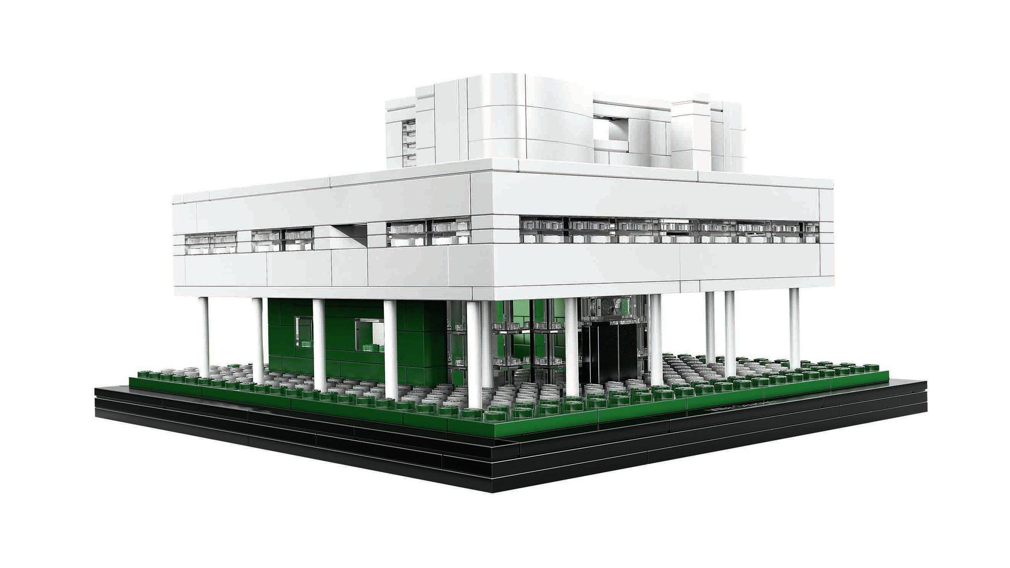 Win le corbusier s villa savoye from lego architecture for Architecture villa
