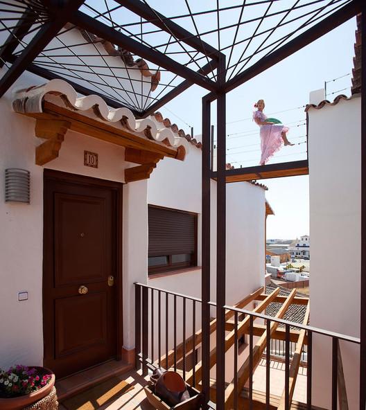 Ocaña de España housing complex, designed by Manuel Ocaña. © Miguel de Guzmán.