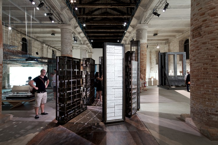 Venice Biennale 2012: Copycat, Empathy and Envy as Form Makers / Cino Zucchi Architetti, © Nico Saieh