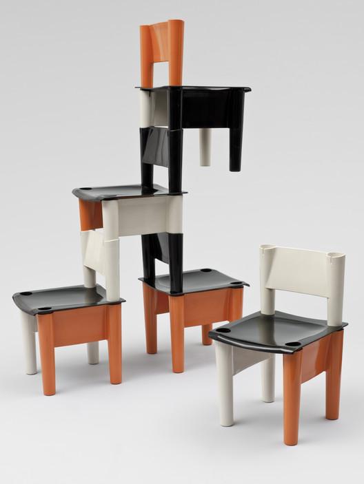 Chica modular children's chairs. 1971 / Jonathan De Pas, Donato D'Urbino, Giorgio DeCurso, and Paolo Lomazzi