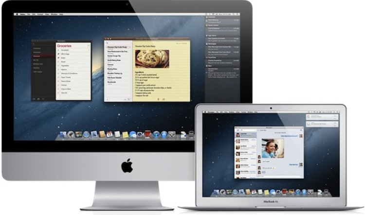Mac OSX 10.8 Mountain Lion