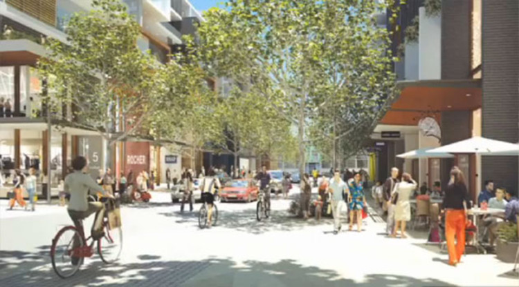 Green Square Development Library and Plaza © City of Sydney 2012