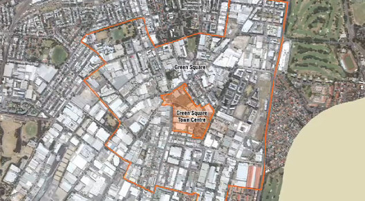Green Square Development Map © City of Sydney 2012