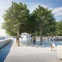 Forecourt - Credit: Franklin D. Roosevelt Four Freedoms Park, LLC
