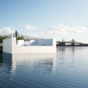 "The ""Room"" from the East River - Credit: Franklin D. Roosevelt Four Freedoms Park, LLC"