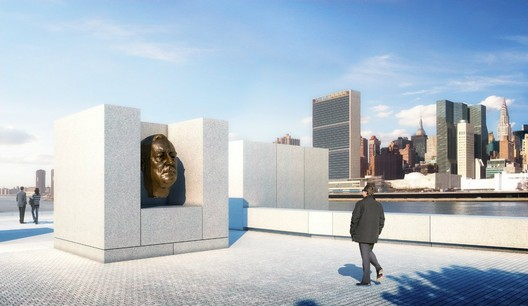 Sculpture Court - Credit: Franklin D. Roosevelt Four Freedoms Park, LLC