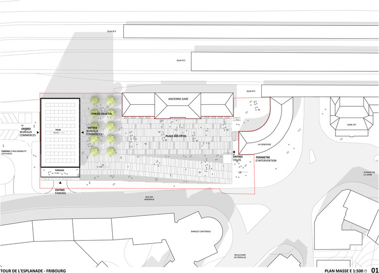 Site Plan © DPA / ADAGP