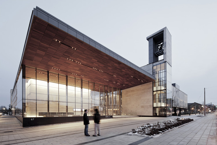Balsillie School of International Affairs, CIGI Campus, Canada / Kuwabara Payne McKenna Blumberg Architects © cMMezulis