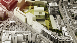 Badel Block Winning Proposal / Pablo Pita Architects