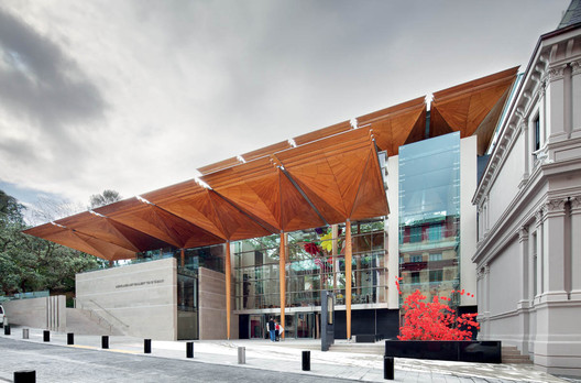 Auckland Art Gallery / Toi o Tamaki, Auckland, New Zealand FJMT + Archimedia - architects in association © Gollings