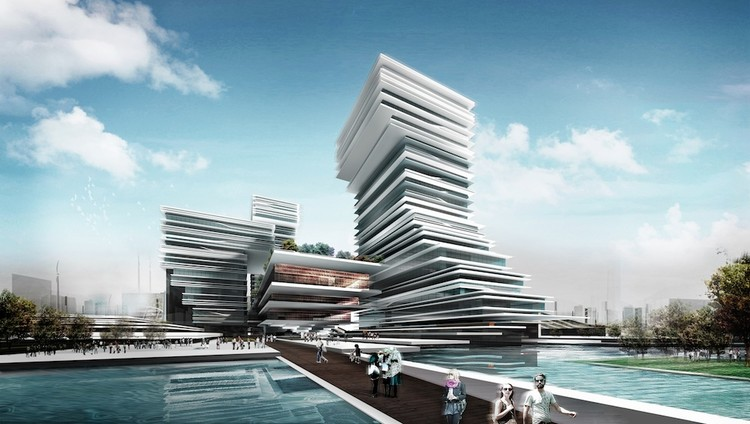 guangzhou daily group culture center iapa archdaily