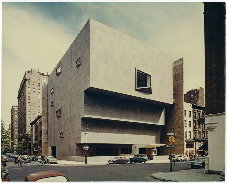 Whitney Museum of American Art / Architect: Marcel Breuer and Hamilton Smith, Architects; Michael H. Irving, Consulting Architect