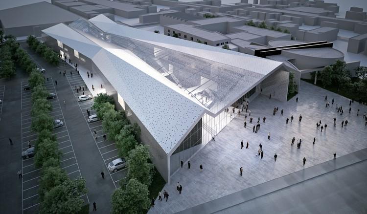 © SCAU architectes. Architecte associé : SCP Peiffer Freycenon architectes. Perspecteur : RSI