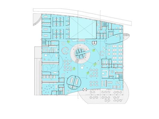Ground Floor Plan © CEBRA