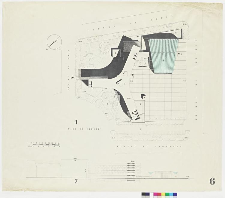 UNESCO Headquarters / Architect: Breuer-Nervi-Zehrfuss Architectes