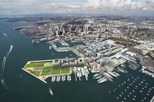 Wynyard Quarter Urban Design Framework by Architectus