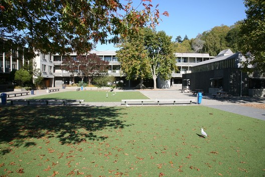 Otago Boys High School Redevelopment 1982 by McCoy and Wixon Architects Ltd
