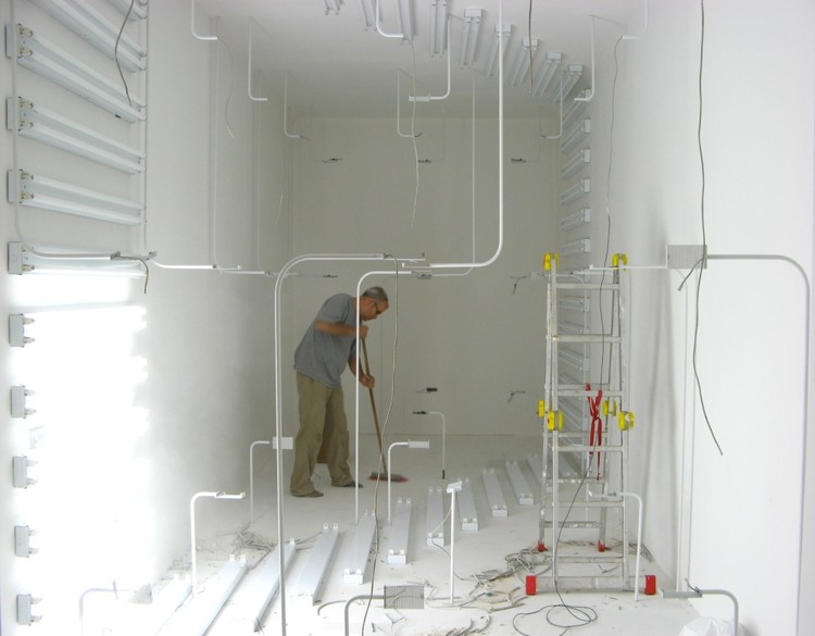 Philippe Rahm. Interior Weather installation made for the CCA exhibition environ(ne)ment. 2006