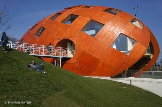 My Green World Pavilion   © Thomas Mayer