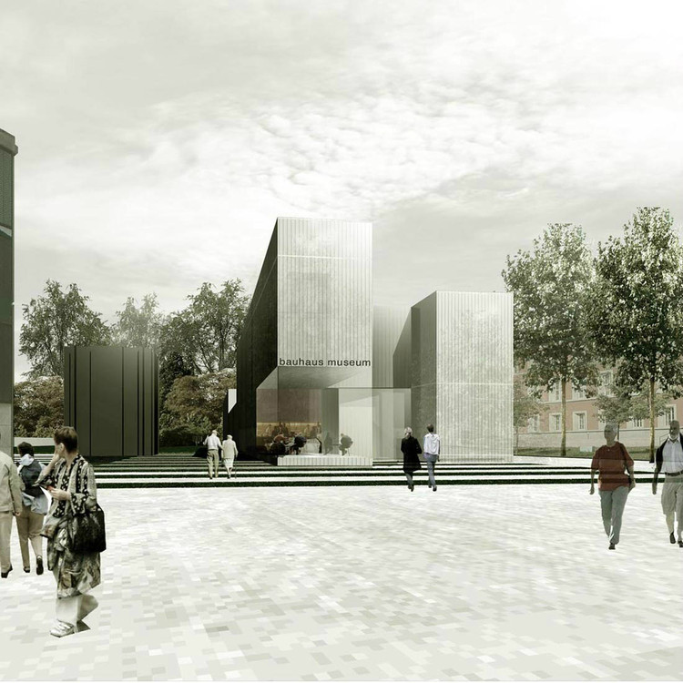 new bauhaus museum architekten hrk archdaily. Black Bedroom Furniture Sets. Home Design Ideas