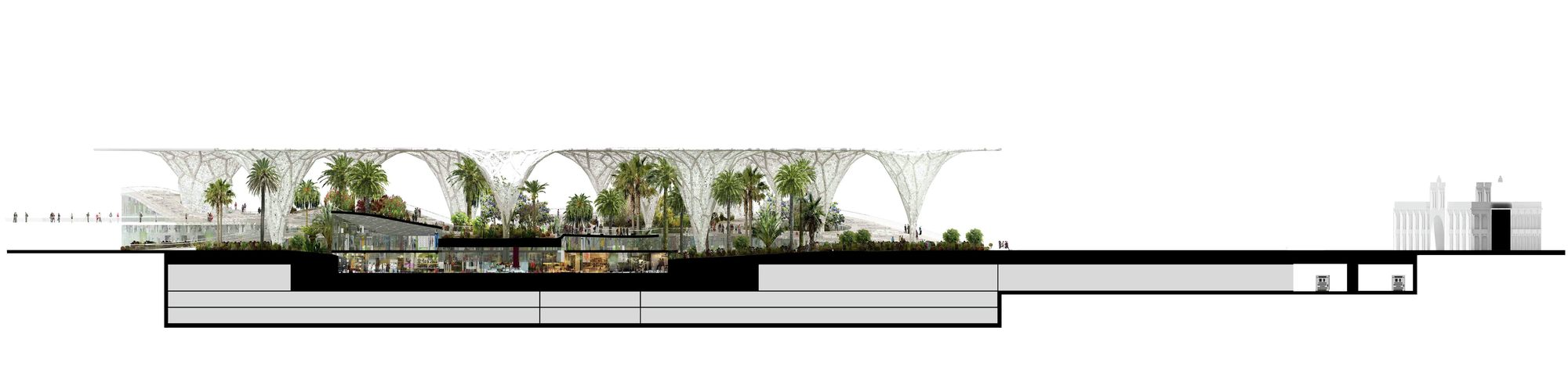 Gallery of Urban Oasis Proposal / Influx_Studio - 5