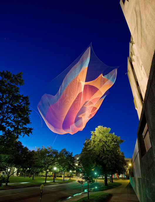 Courtesy of Studio Echelman © Peter Vanderwarker