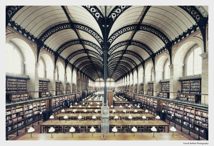 Bibliothèque Sainte-Geneviève, Paris © Franck Bohbot