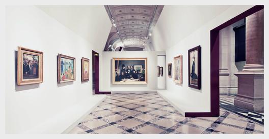 Impressionism Exhibition, Hotel de Ville Paris © Franck Bohbot