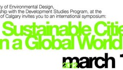 Sustainable Cities in a Global World Symposium