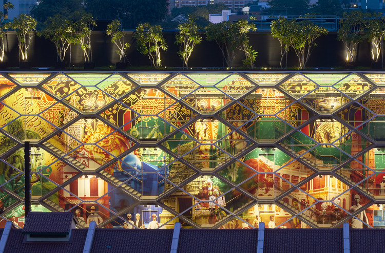 "A Glowing Lantern for  ""Little India"" / Robert Greg Shand Architects and Urban Design - URBNarc. Imagen cortesía de World Architecture Festival"