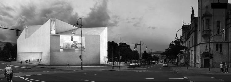 Cuarto lugar: JA Architecture Studio. Imagen cortesía de Bauhaus Dessau