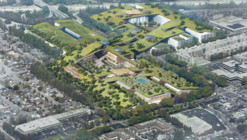Rafael Viñoly to Add World's Largest Green Roof to Former Shopping Mall in California