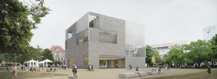 Mención: Raummanufaktur. Imagen cortesía de Bauhaus Dessau