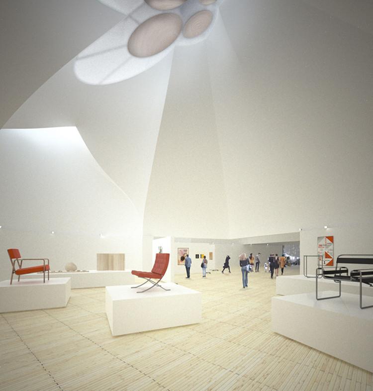 Primer lugar compartido: Young & Ayata. Imagen cortesía de Bauhaus Dessau