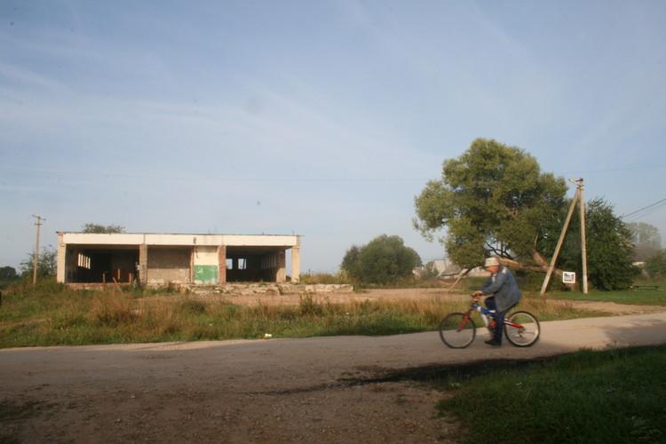 La ruina original. Imagen cortesía de Nikolay Polissky
