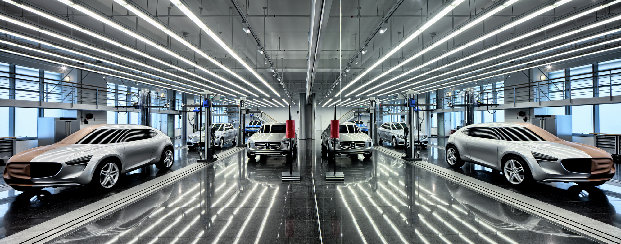 Mercedes benz advanced design center of china anyscale for Mercedes benz training center