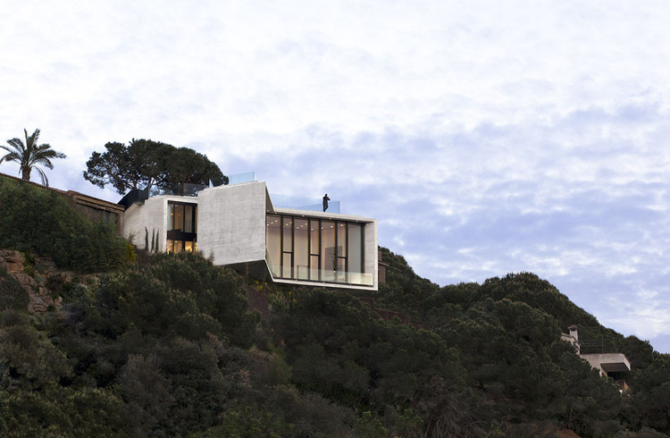 """""""Síntesis y contención"""": Las Filosofías de Diseño de Cadaval & Solà-Morales, X House. Imagen © Sandra Pereznieto"""