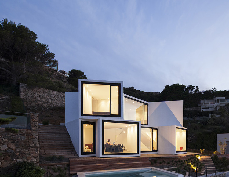 Casa Girasol. Imagen © Sandra Pereznieto